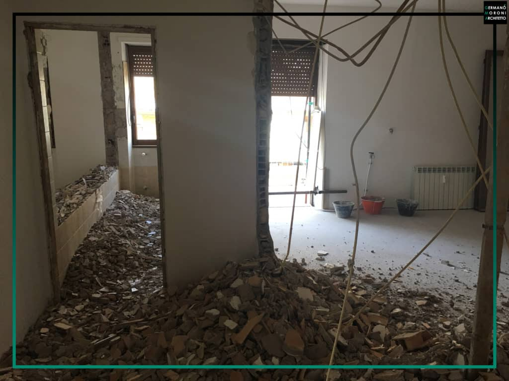 Ristrutturazione completa appartamento a Roma